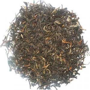 Thé Assam GFOP supérieur, thé noir aux nombreuses pointes dorées.