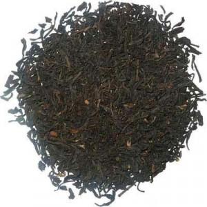 Thé Keemun Congou, thé noir de Chine faible en théine.