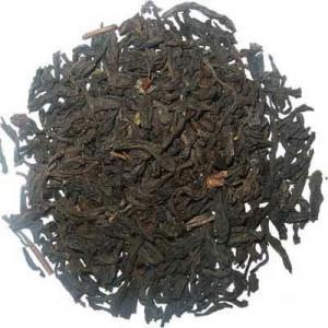 Lapsang Souchong, thé noir de Chine fumé à l'épicéa