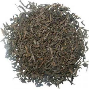 Thé Tarry Souchong, le plus fumé des thés fumés de manière orthodoxe.