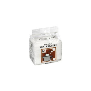 paquet de 64 filtre japonais à thé