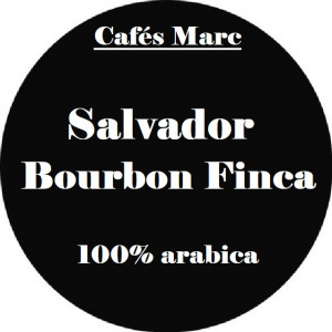 Café Salvador Bourbon Finca moulu Piston