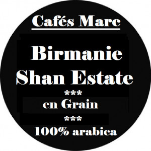 Café Shan Estate Birmanie en grain